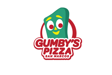 Gumby's Pizza San Marcos logo