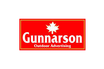 Gunnarson Outdoor Advertising logo
