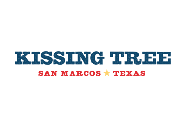 Kissing Tree San Marcos, Texas logo
